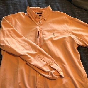 Light orange Polo Ralph Lauren Classic fit shirt